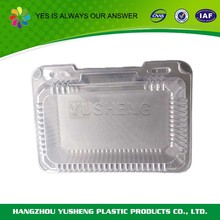 Disposable plastic thermal food container,personalized dog food container,food container