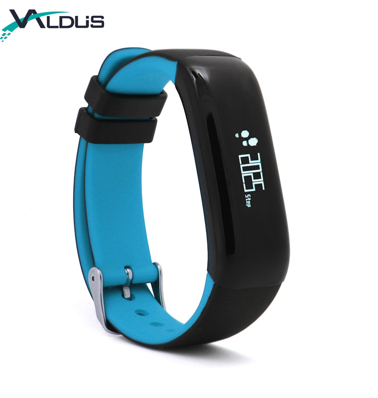 2018 New Waterproof IP67 Fitness Tracker Activity Tracker Watch with Heart Rate Monitor P1
