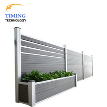 Anti-mildew wood plastic composite fence panels WPC wall panel