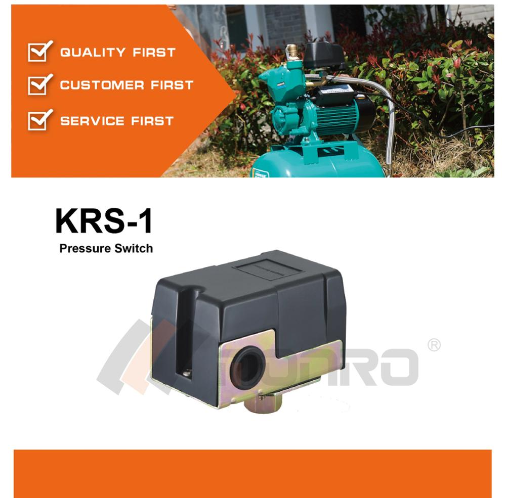 monro high quality machinery water pump pressure control KRS-1
