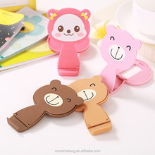 Combo colorful creative cute animal shaped phone holder mobile phone holder cell phone holder