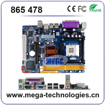 Low price types of computer motherboard 865 476 socket new mainboard