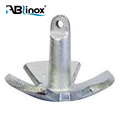 ABLinox China ISO Custom Manufacture Stainless Steel marine hardware accessories Ship Anchor