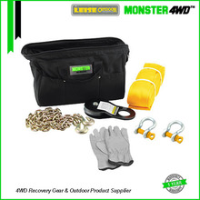 Monster4WD 6pcs 4x4 Recovery Winch Kits