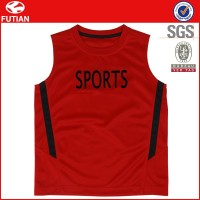 Polyester Men Sports Custom Running T Shirt,Sleeveless Gym Custom Tank Top Wholesale #FT16X017