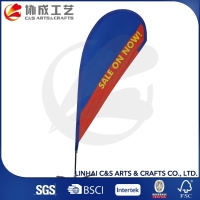 Promotional Custom Printing Bow Flag