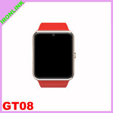 Professional price of smart watch phone with CE certificate gt08 smartwatch