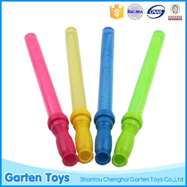 Hot selling kids summer toys plastic soap bubbles wand