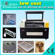 Cutting thickness:1-30 mm HM-S1060 Precise CNC CO2 Laser Non-metal Die Cutting Machine for acrylic/wood architectural models