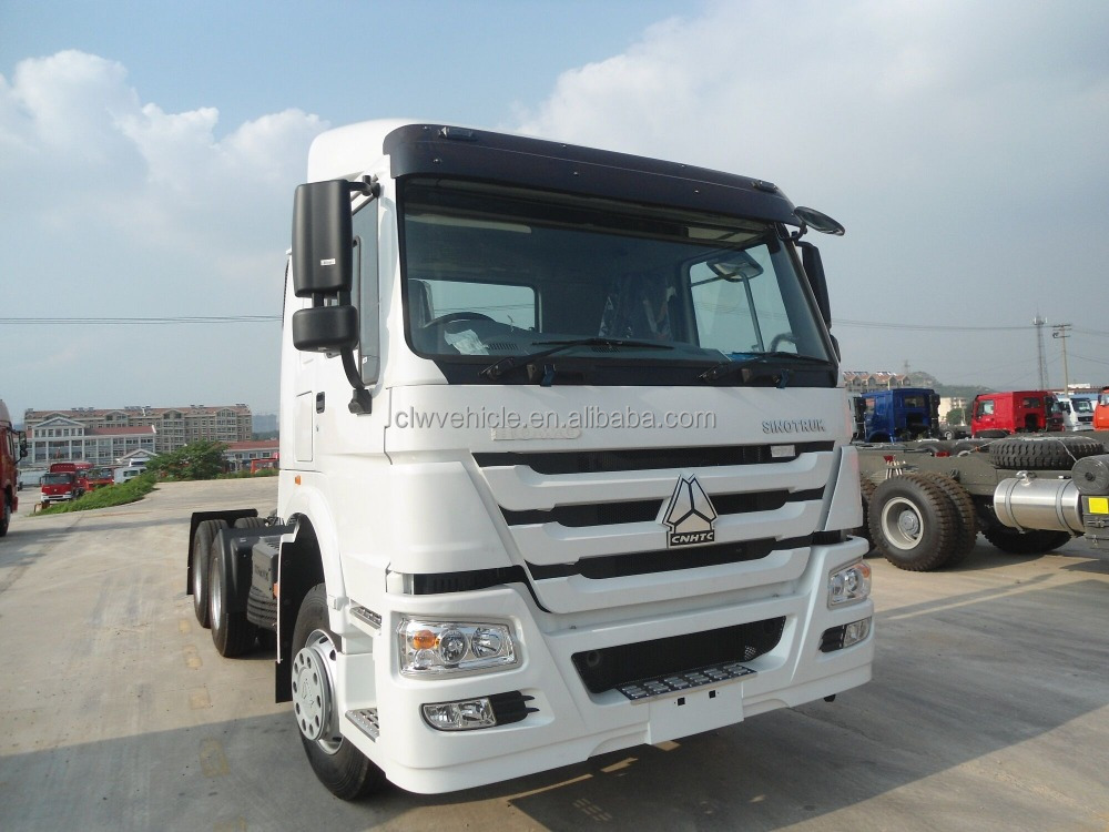 SINOTRUK 6X4 HOWO tractor truck suppliers for sale Euro2 tractor truck