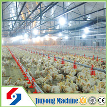Factory supply low price broiler poultry farm equipment/chicken feeding line equipment