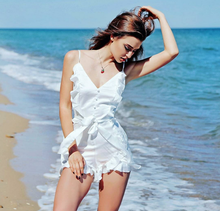 X87759A wholesale off shoulder brown romper sexy clothes women lady beach jumpsuit
