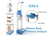 GS6.6 hot new products body analyzer machine /bmi height weight machine /body fat roller