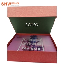 Colorful printing cardboard paper packing boxes custom luxury folded magnetic gift box