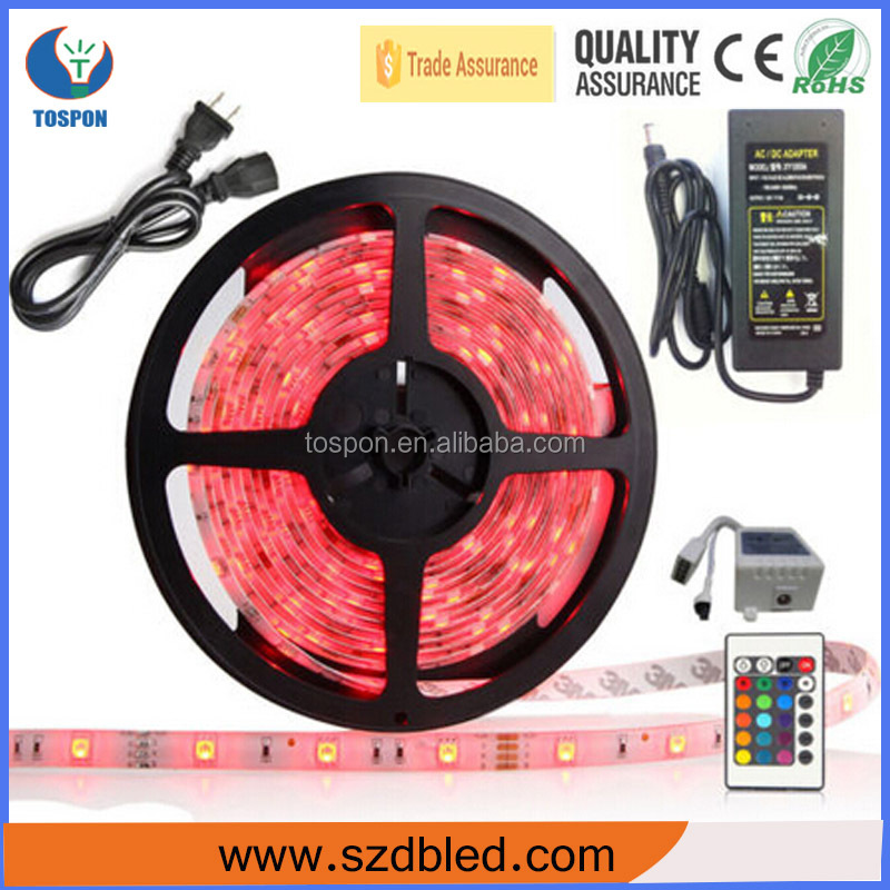 2016 Factory Wholesale 36W/72W double color/RGBW/RGB 5050 aluminum profile led strip light