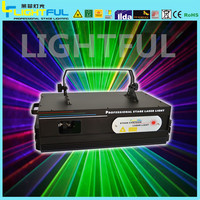 2w rgb text laser projector