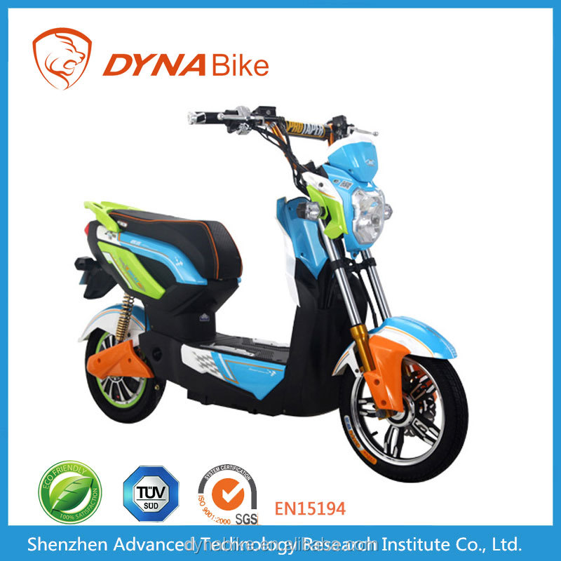 Lead-acid battery operated electric motorized moped / pedicab for sales