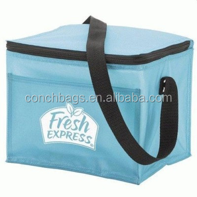 Plastic Food Disposable Insulated Wholesale Thermal Round Cooler Bag