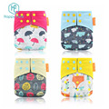 Happyflute New print Reusable baby Diaper For Baby Washable Cloth diaper