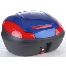 43L hard Plastic Blue motorcycle luggage