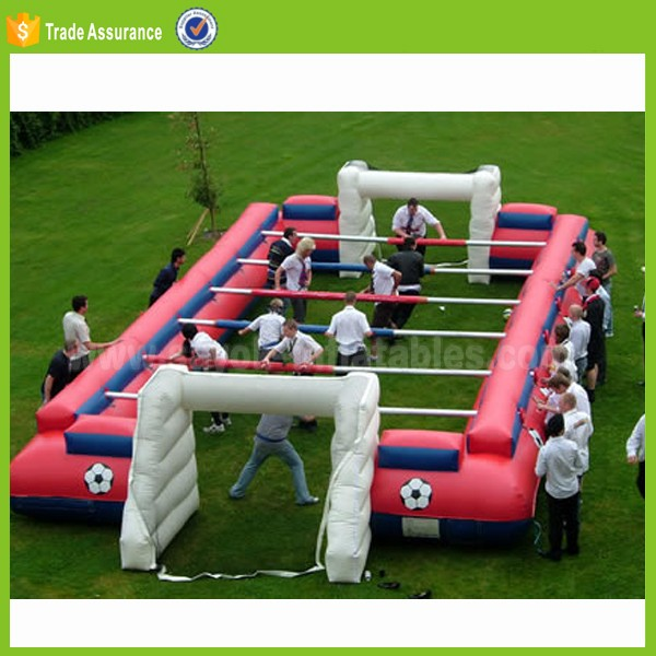 New inflatable soccer field for sale,inflatable games china,inflatable football field