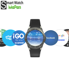 Good Quality IPS Multi Touch Screen Smart Watch Mobile Phone with FM Radio