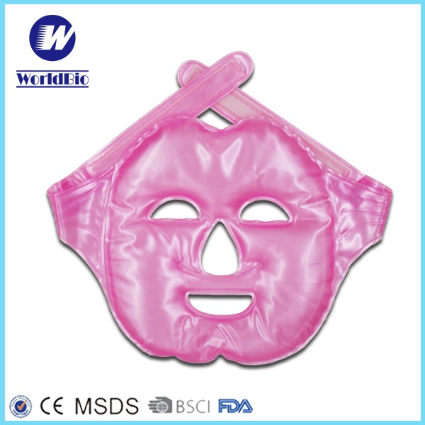 Soft Facial Face Mask For Hot And Cold Use
