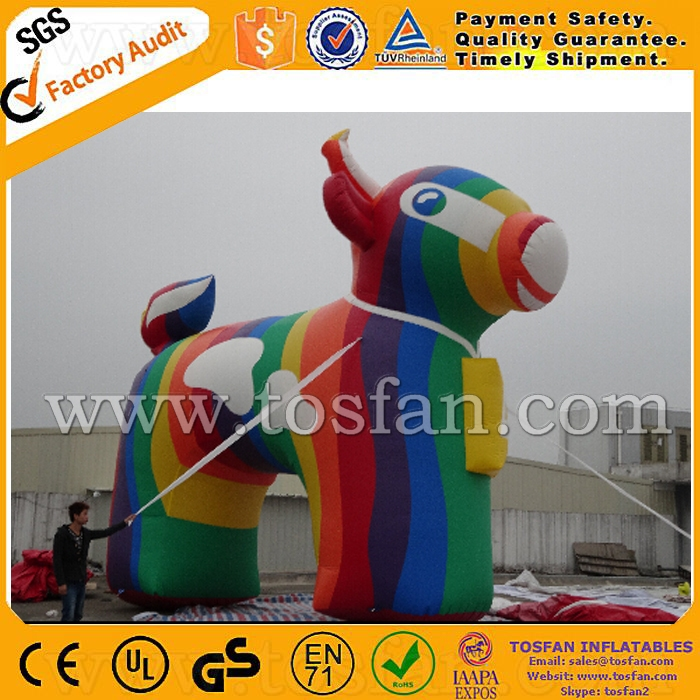 Cold air giant colorful inflatable mascot balloon for advertising F1019