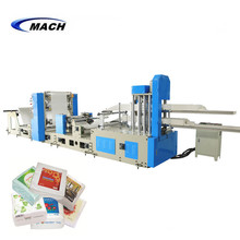 Two Lanes 1/4 Folding Automatic Tissue Napkin Paper Making Machine Price
