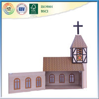 Wooden house model is special design for your kids