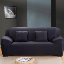 Factory price 1/2/3 seat protective fabric sofa cover stretch couch cover