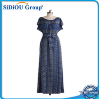xxl size women casual dress casual maxi vintage clothing dress
