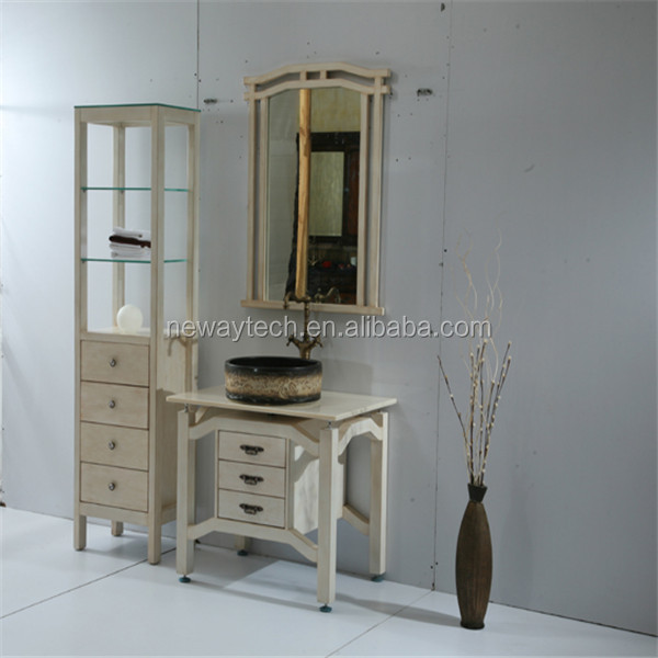 Cheap Unfinished Bathroom Vanities And Cabinets With Side Cabinet Buy Unfinished Bathroom