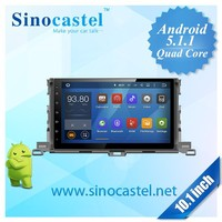 Android Car DVD player for Toyota Highlander 2015 with mirror link,GPS,WiFi,3G, DVR