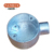explosion proof flush mounted metal junction box size