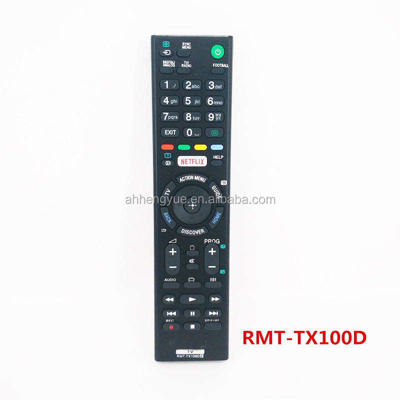 industrial iptv remote controls for sony tv remote control RMT-TX100D for netflix