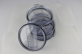 High quality spill proof lid for 30oz stainless steel tumbler,304 stainless steel both side clear sliding lid for 30oz tumbler