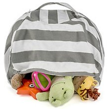 travel storage bag, toy storage bag ,kids bean bag with high quality canvas fabric