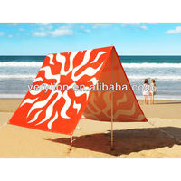 EASY SET UP BEACH SUN SHADE TENT W/ALUMINIUM POLES