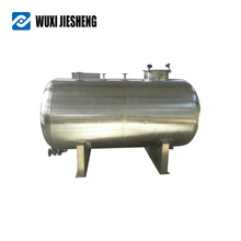 Credible professional inox steel refrigerated galvanized water pressure tank