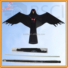 New bird scarer hawk kite with poles