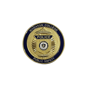 Promotion custom design souvenir gold stamped metal blank coin