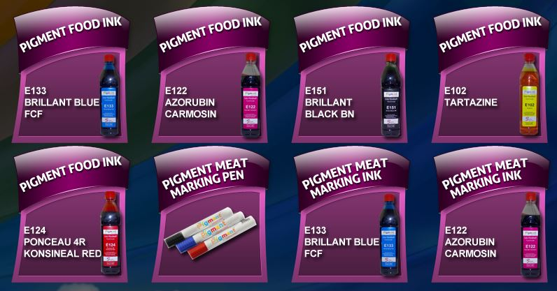 Non Hazardous Ink for Eatables (Food, Meat, etc)