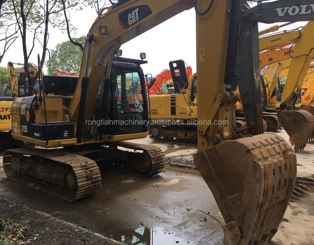Good quality used caterpillar excavator 312D for sale/ cat excavator with low price