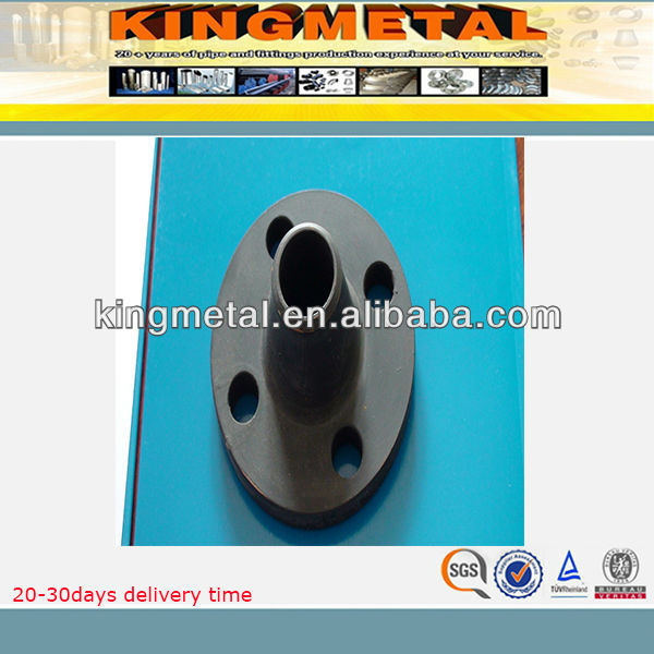 ASTM A105 ANSI B16.9 carbon steel flange with weight