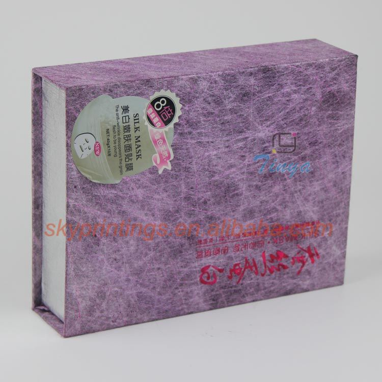 various custom paper face mask packaging box