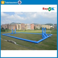 Hot sale large inflatable football pitch inflatable football field for soccer/football