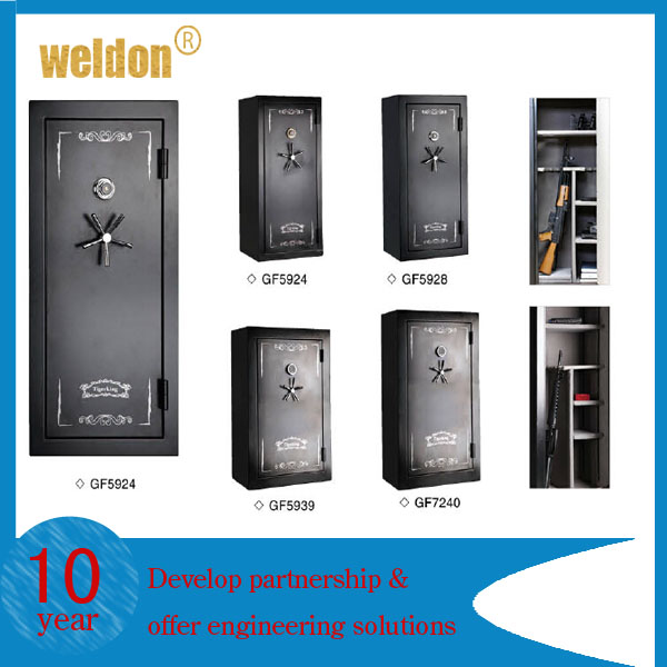 WELDON 2014 hot sale firearm combination lock gun safe to load 5-22 guns