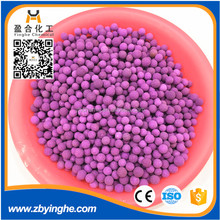 Activated Alumina with Potassium Permanganate to to clean the air