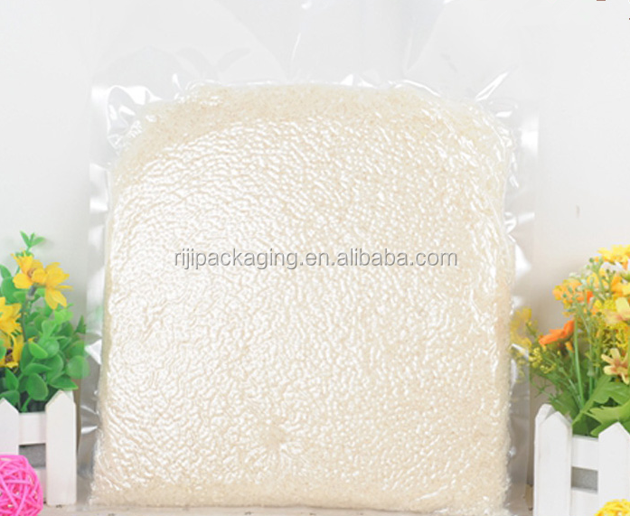 Hot sale nylon PE laminated plastic vacuum storage bag for corn